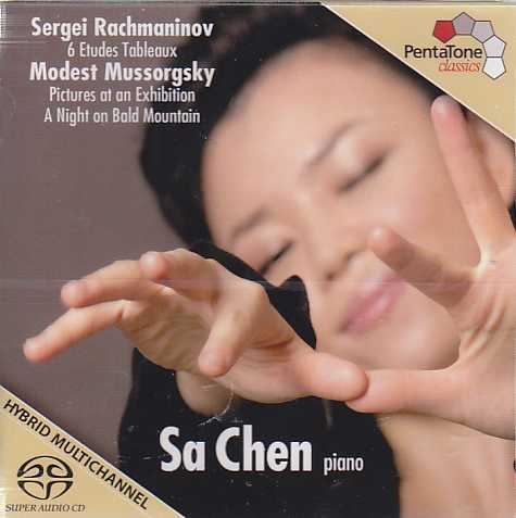 Sergei Rachmaninov / Etudes-tableaux / Modest Mussorgsky / Pictures at an Exhibition / Sa Chen SACD