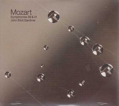 W.A. Mozart / Symphony No. 39 & 41 / The English Baroque Soloists / John Eliot Gardiner