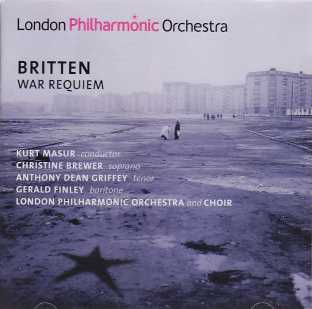 Benjamin Britten / War Requiem / London Philharmonic Orchestra / Kurt Masur 2CD