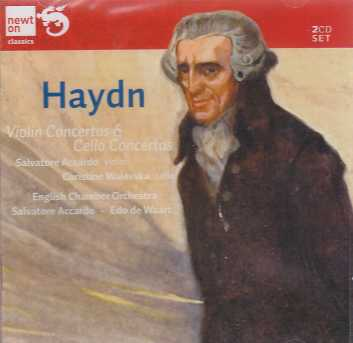 Joseph Haydn / Violin & Cello Concertos / Salvatore Accardo / Christine Walevska / English Chamber Orchestra / Salvatore Accardo 2CD