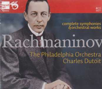 Sergei Rachmaninov / Complete Symphonies / Orchestral Works / The Philadelphia Orchestra / Charles Dutoit 4CD