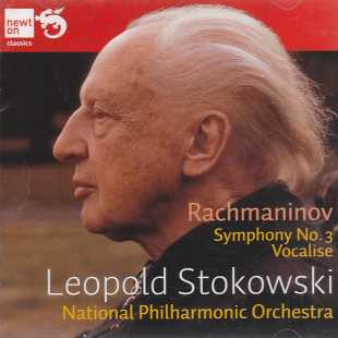 Sergei Rachmaninov / Symphony No. 3 & Vocalise / National Philharmonic Orchestra / Leopold Stokowski 2CD