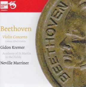 Ludwig van Beethoven / Violin Concerto / Gidon Kremer / Academy of St Martin in the Fields / Neville Marriner