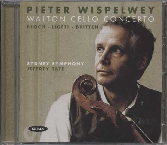 William Walton / Cello Concertos / Pieter Wispelwey / Sydney Symphony / Jeffrey Tate