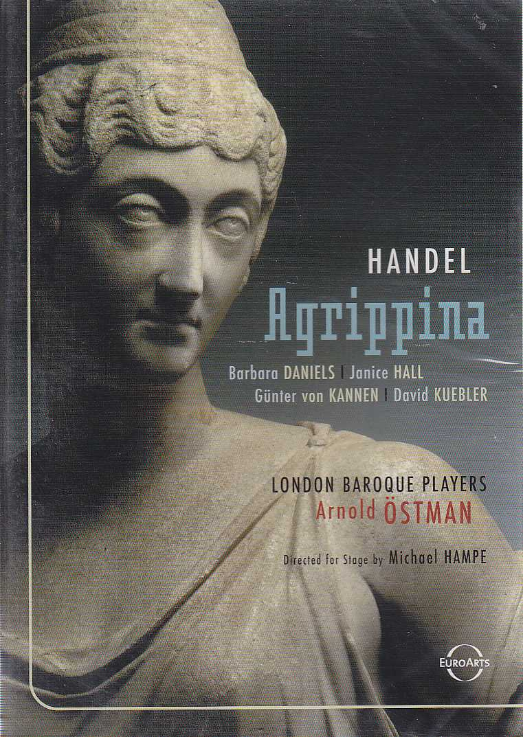 Georg Friedrich Händel / Agrippina / Günter von Kannen / Barbara Daniels / London Baroque Players / Arnold Östman DVD