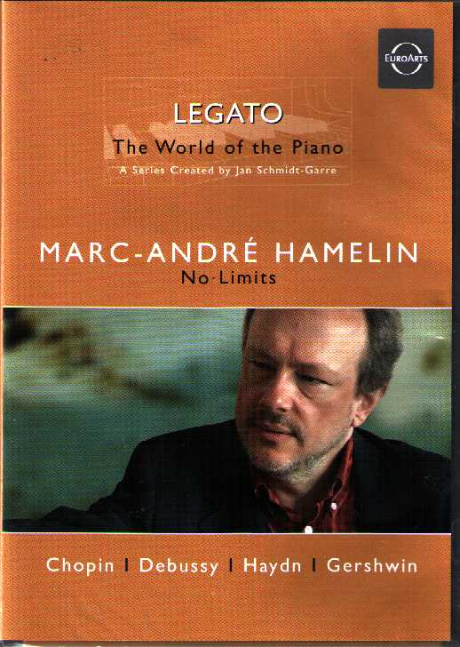 Marc-André Hamelin / No Limits / Frédéric Chopin / Claude Debussy / Joseph Haydn / George Gershwin DVD
