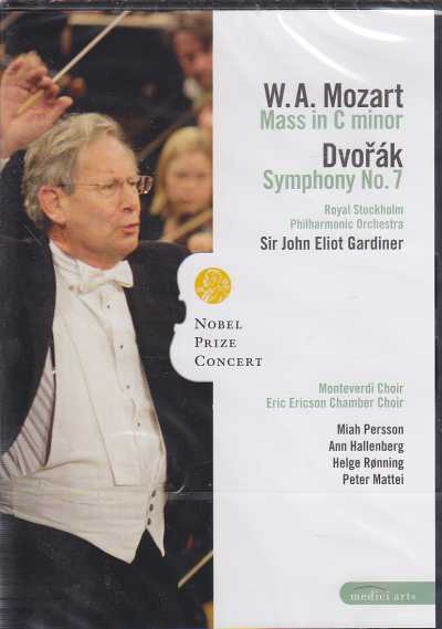 W.A. Mozart / Mass in C minor / Antonín Dvorák / Symphony No. 7 in D minor / Royal Stockholm Philharmonic Orchestra / Sir John Elliot Gardiner DVD