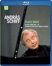 J.S. Bach / French Suites / András Schiff / Blu-ray Disc