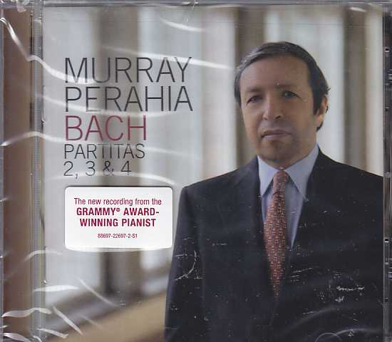 J.S. Bach / Partitas 2, 3 & 4 / Murray Perahia