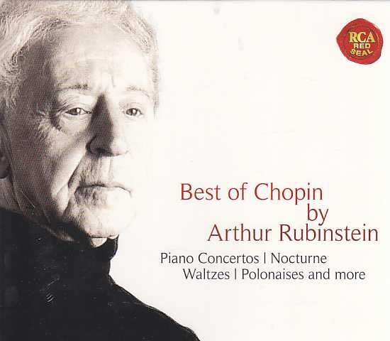 Frédéric Chopin / Piano Concertos 1-2 / Best of Chopin / Artur Rubinstein
