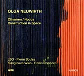 Olga Neuwirth / Clinamen/Nodus / Construction in Space / London Symphony Orchestra / Pierre Boulez / Klangforum Wien