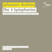 Johannes Brahms / Symphonies (Complete) // Haydn Orchestra of Bolzano and Trento / Gustav Kuhn