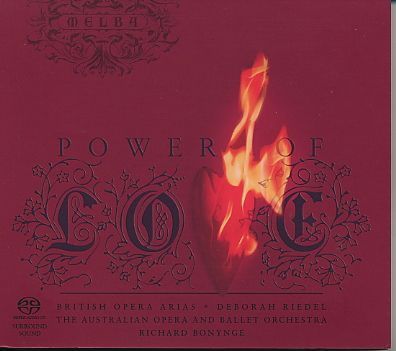 Power of Love / British Opera Arias SACD